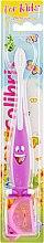 Духи, Парфюмерия, косметика Детская зубная щетка, 0904, фиолетовая - Colibris Soft