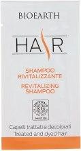 Духи, Парфюмерия, косметика Восстанавливающий шампунь для поврежденных волос - Bioearth Revitalizing Shampoo (пробник)
