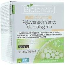 Духи, Парфюмерия, косметика Увлажняющий ночной крем-концентрат против морщин - Bielenda Biotechnologia 7D Face Cream 40+