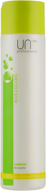 Шампунь для объема волос - UNi.tec Professional Max Volume Shampoo
