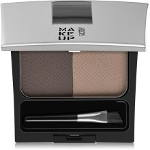 Пудра для бровей - Make Up Factory Eye Brow Powder — фото N1