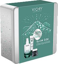 Парфумерія, косметика Набір - Vichy Slow Age (fluid/50ml + eye/cr/15ml + mask/15ml)