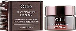 Духи, Парфюмерия, косметика Крем вокруг глаз с муцином черной улитки - Ottie Black Signature Eye Cream