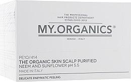Парфумерія, косметика Делікатний органічний пілінг для шкіри голови з маслом нім та екстактом соняшника  - My.Organics My.Scalp Skin Balancing Preparation