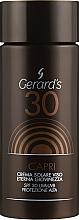 Духи, Парфюмерия, косметика Солнцезащитный крем для лица - Gerard's Cosmetics Sun Line Capri Sun Cream For Face Spf30