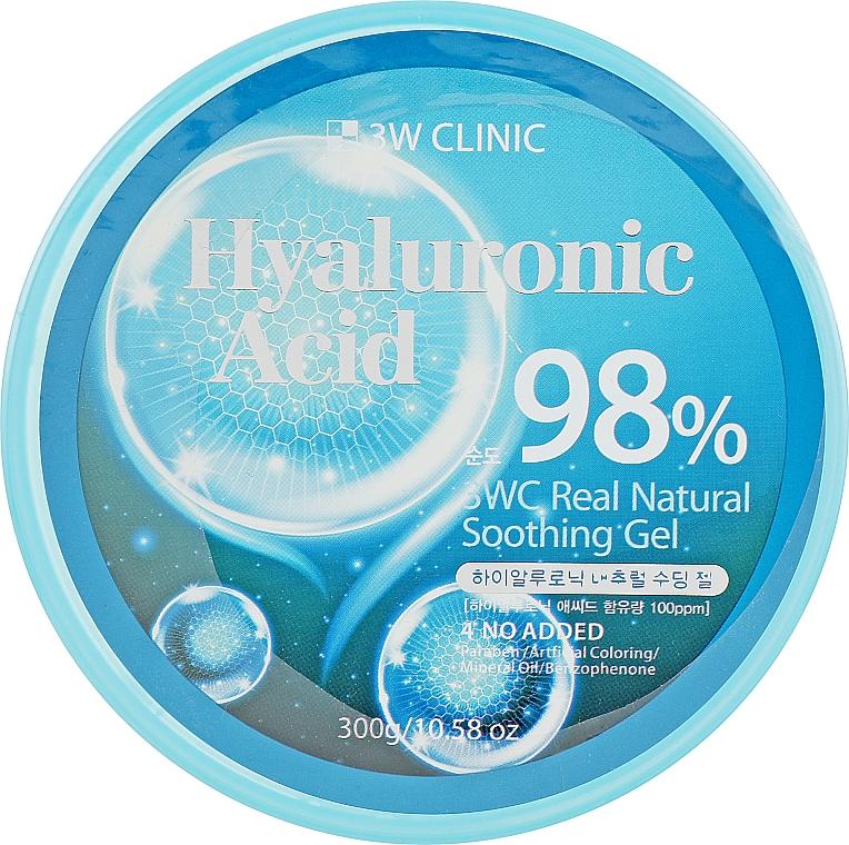 Универсальный гель с гиалуроновой кислотой - 3W Clinic Hyaluronic Acid Natural Soothing Gel