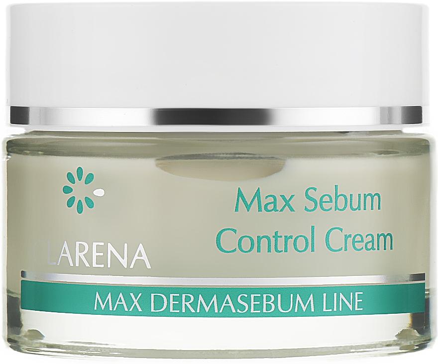 Крем, нормализующий выделение кожного сала, с комплексом Sytenol® A - Clarena Bio Dermasebum Line Max Sebum Control Cream