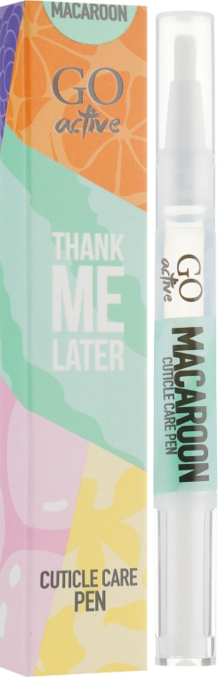 Масло для кутикулы - GO Active Thank Me Later Macaroon Cuticle Care Pen