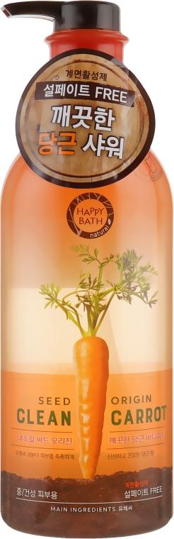 Увлажняющий гель для душа - Happy Bath Seed Origin Clean Carrot