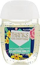 Духи, Парфюмерия, косметика Антибактериальный гель для рук - Bath and Body Works Hand Sanitizer Thanks For Everything (Sugared Clementine)