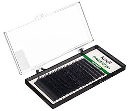 Духи, Парфюмерия, косметика Накладные ресницы Butterfly Green C 0.10 (16 рядов: 10 мм) - Kodi Professional