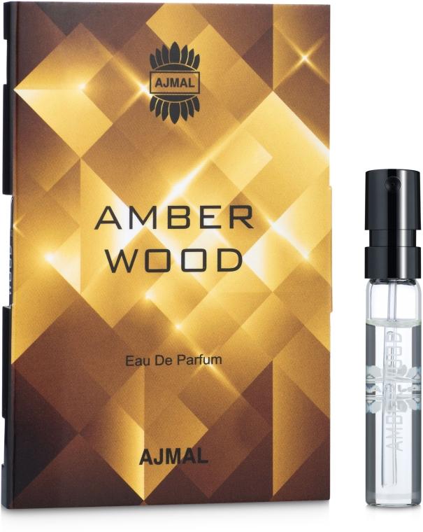 Ajmal Amber Wood - Парфюмированная вода (пробник)