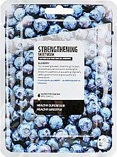 "Духи, Парфюмерия, косметика Тканевая маска для лица ""Голубика"" - Superfood For Skin Strengthening Sheet Mask"