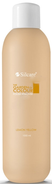 Жидкость для снятия лака - Silcare The Garden Of Colour Polish Remover Lemon Yellow