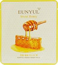 Духи, Парфюмерия, косметика Тканевая маска питательная с медом для сухой кожи - Eunyul Honey Mask Pack