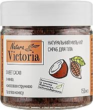 """Духи, Парфюмерия, косметика Мыльный скраб для тела """"Sweet Cacao"""" - Natura Victoria"""