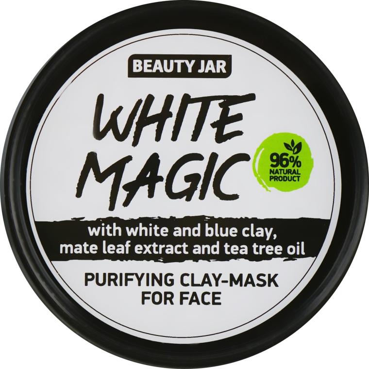 Маска для лица с экстрактом листьев матэ - Beauty Jar White Magic