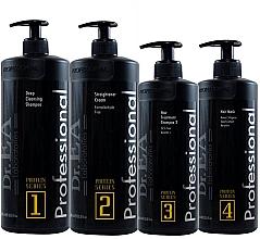 Духи, Парфюмерия, косметика Набор - Dr.EA Protein Series Hair Care Kit (shm/1000ml + hair/cr/1000ml + shm/500ml+mask/500ml)