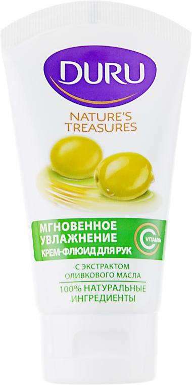 """Крем-флюид для рук """"Оливковое масло"""" - Duru Natures Treasures"""