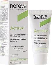Духи, Парфюмерия, косметика Крем для лица матирующий - Noreva Actipur Anti-Imperfections Matifying Cream