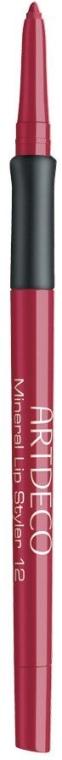 Карандаш для губ минеральный, устойчивый - Artdeco Mineral Lip Styler
