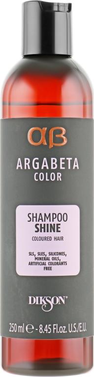 Шампунь для окрашенных волос - Dikson Argabeta Shine Shampoo