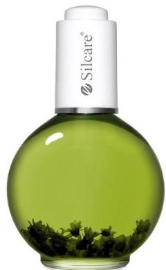 """Масло для ногтей и кутикулы с цветами """"Киви"""" - Silcare Cuticle Oil Kiwi Deep Green — фото N1"""