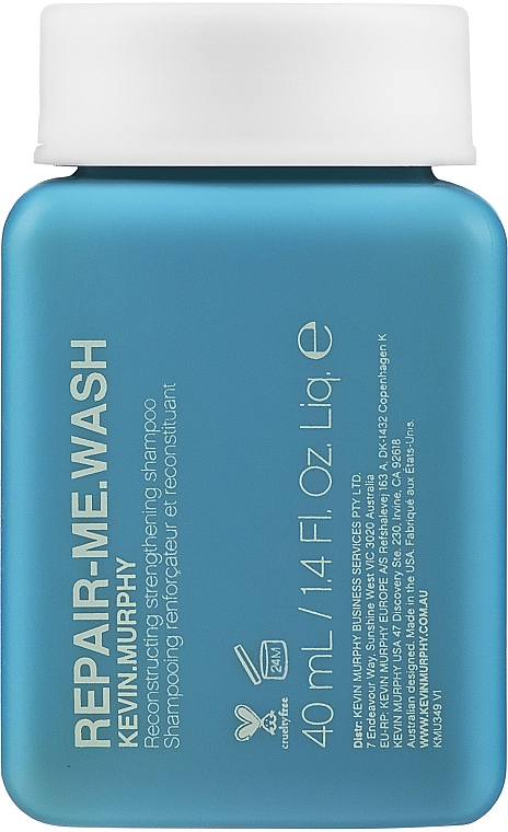 Реконструирующий и укрепляющий шампунь - Kevin.Murphy Repair.Me Wash Reconstructing Strengthening Shampoo (мини)