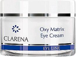 Духи, Парфюмерия, косметика Легкий крем для кожи вокруг глаз - Clarena Eye Vision Line Oxy Matrix Eye Cream