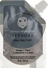 """Духи, Парфюмерия, косметика Маска для лица """"Серая глина: Против жирного блеска"""" - Sephora Grey Clay Face Mask"""