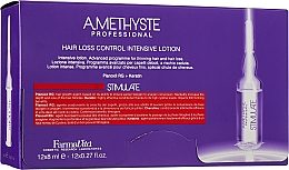 Духи, Парфюмерия, косметика Лосьон для ухода за ослабленными волосами - Farmavita Amethyste Stimulate Hair Loss Control Intensive Lotion