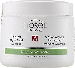 Духи, Парфюмерия, косметика Альгинатная маска для всех типов кожи с экстрактом красного винограда - Norel Peel-off algae mask with red grapes