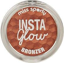 Духи, Парфюмерия, косметика Бронзирующая пудра - Miss Sporty Insta Glow Bronzer