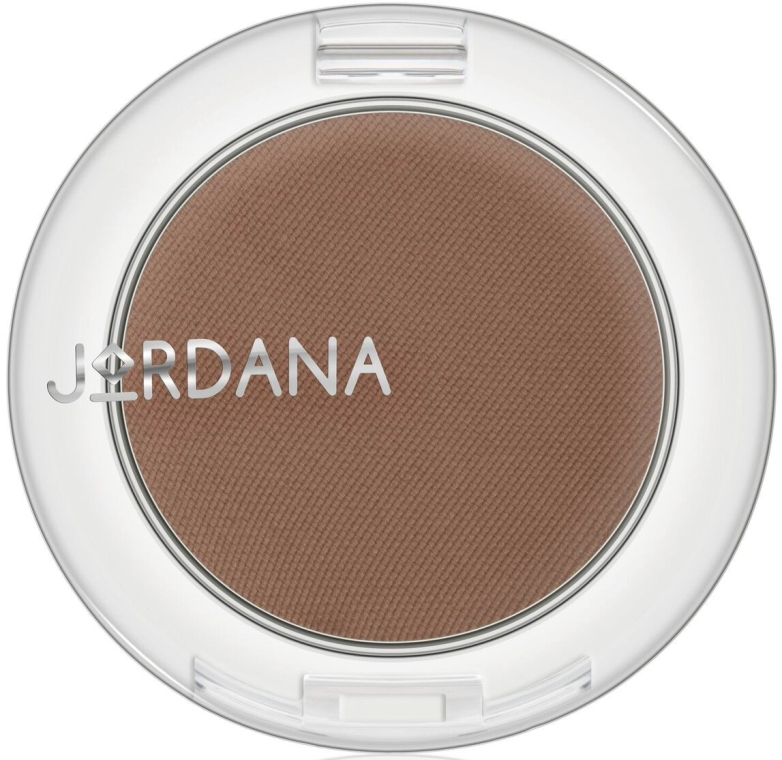Пудра для бровей и век 3 в 1 - Jordana Eye Shaper 3-in-1 Eyebrow shadow — фото N1