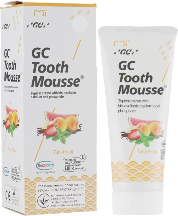 Крем для зубов - GC Tooth Mousse Tutti-Frutti