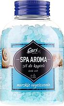 Духи, Парфюмерия, косметика Соль для ванны, голубая - Cari Spa Aroma Salt For Bath