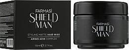 Духи, Парфюмерия, косметика Воск для волос - Farmasi Shield Man Styling Matte Hair Wax