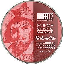 Духи, Парфюмерия, косметика Бальзам для бороды - Barbados Pirates Beard Balm Benito De Soto