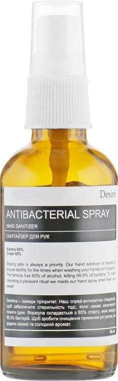 Антибактериальный спрей для рук - Desire Hand Sanitizer