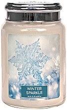 Духи, Парфюмерия, косметика Ароматическая свеча - Village Candle Winter Sparkle