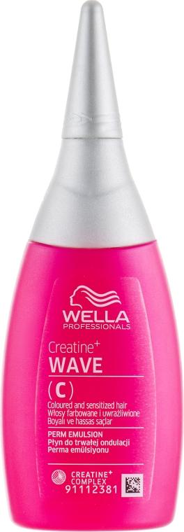 Лосьон для завивки окрашенных и чувствительных волос - Wella Professionals Creatine+ Wave