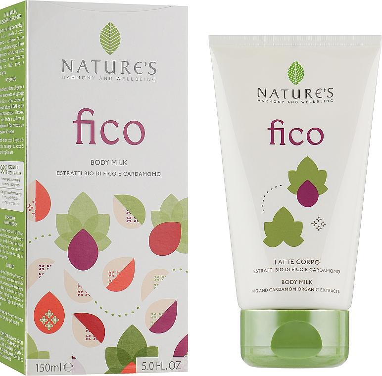 Очищающее молочко для тела - Nature's Fico Latte Corpo