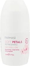 Духи, Парфюмерия, косметика Дезодорант шариковый - Farmasi Soft Petals Refreshing Deo Roll-on