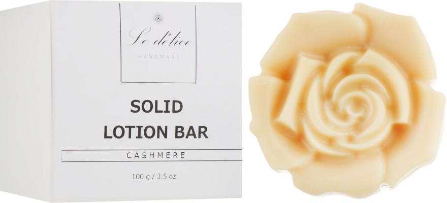 Натуральный твердый лосьон для тела - Le Delice Solid Lotion Bar Cashmere