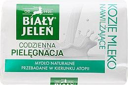 Духи, Парфюмерия, косметика Гипоаллергенное мыло с козьим молоком - Bialy Jelen Hypoallergenic Soap With Goat Milk
