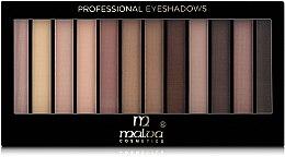 Духи, Парфюмерия, косметика Палитра теней для век - Malva Cosmetics Temp Eyeshadow