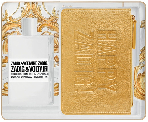 Zadig & Voltaire This Is Her - Набор (edp/100ml + purse) — фото N1