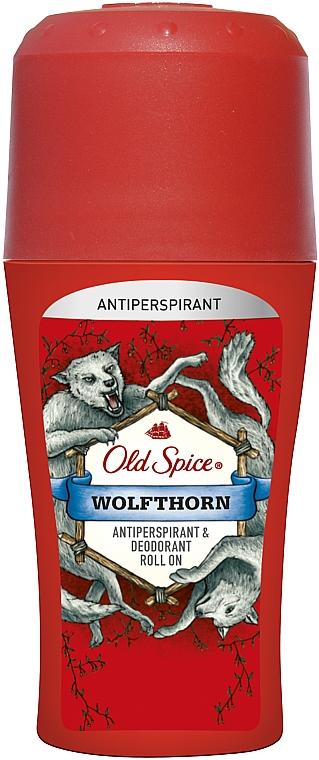Шариковый дезодорант - Old Spice Wolfthorn Roll On Deodorant