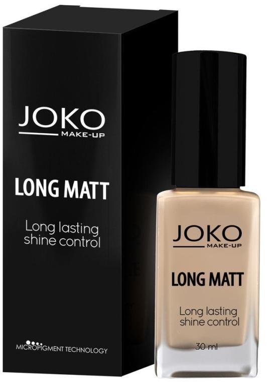 Тональный крем - Joko Long Matt