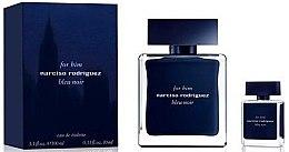Духи, Парфюмерия, косметика Narciso Rodriguez For Him Bleu Noir - Набор (edt/100ml + edt/10ml)